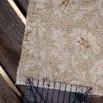 Sew a quarter inch seam on your dryer sachet