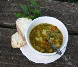 September Split Pea Soup Recipe