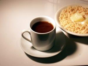 coffee/breakfast