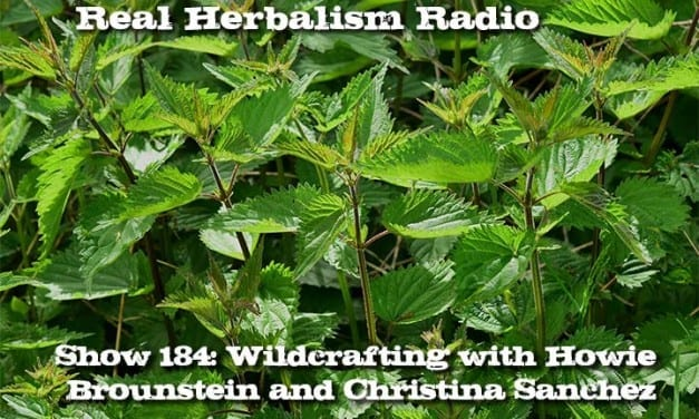 184.Wildcrafting with Howie Brounstein and Christina Sanchez