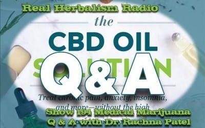 194.Medical Marijuana Q and A with Dr. Rachna Patel