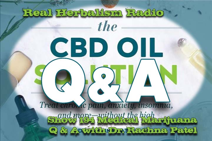 Medical Marijuana Q And A With Dr. Rachna Patel – Show 194