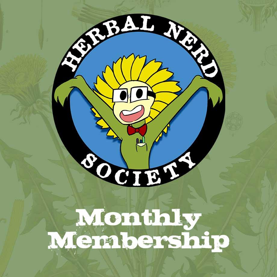Herbal Nerd Society Membership