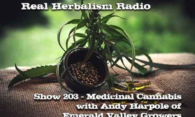 203.Medicinal Cannabis with Andy Harpole of EVG