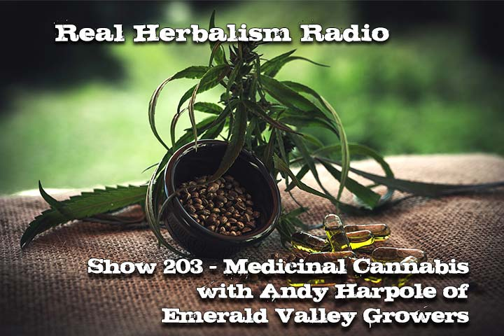 Medicinal Cannabis With Andy Harpole Of EVG – Show 203