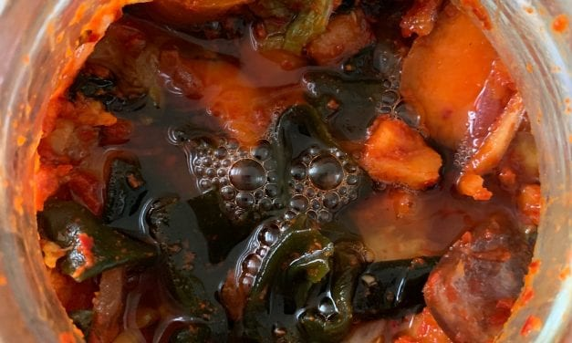 Vegan Kimchi: Fermented Vegetables without Fish Sauce